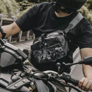 กระเป๋ากล้อง Wotancraft Mini Rider Charcoal Canvas