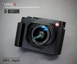เคส Leica Q QP Lim's สีดำ
