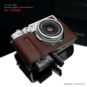 เคสกล้อง Fuji X100V จาก Gariz HG-X100VBR สีน้ำตาล