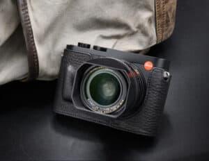 เคสหนัง Leica Q2 VR Studio สีดำ