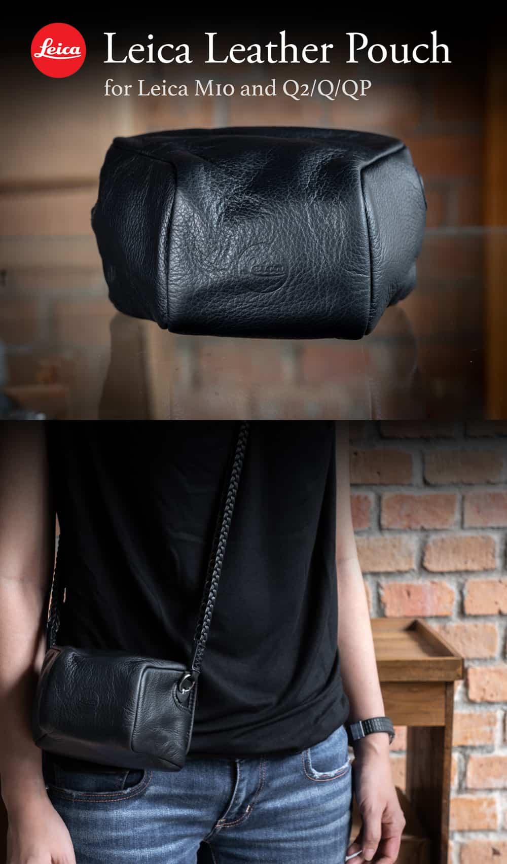 Leica Leather Pouch Original ซองหนังแท้ Leica