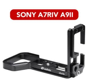 L-Plate Sony A7RIV A9II Leofoto