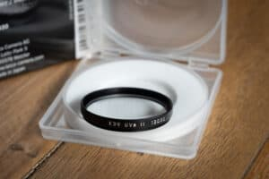 Leica E39 UVa II BLack Filter (Original)