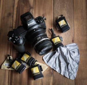 ผ้าเช็ดเลนส์ Nikon Micro Fiber (Original)