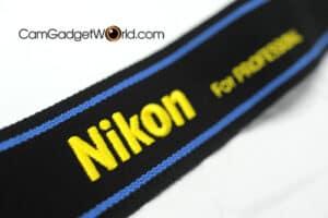 สายคล้องกล้อง Nikon สีดำฟ้า Strap 45 ของแท้ (Original)