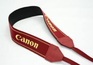 สายคล้องคอ Canon สีแดง Professional ของแท้ (Original)