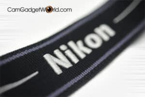 สายคล้องกล้อง Nikon สีดำเทา Strap 45 ของแท้ (Original)