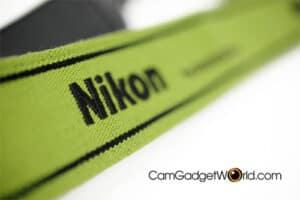 สายคล้องกล้อง Nikon สีเขียว Strap 45 ของแท้ (Original)