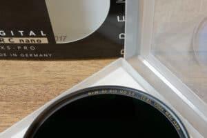 ฟิลเตอร์ B+W ND3.0 82mm XS-PRO MRC Nano 10 Stop