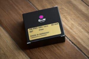 ฟิลเตอร์ B+W 43mm XS-PRO 007 CLEAR MRC NANO