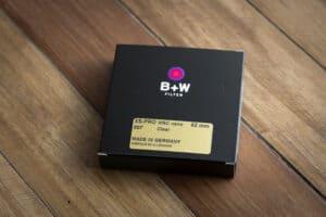ฟิลเตอร์ B+W 62mm XS-PRO 007 CLEAR MRC NANO