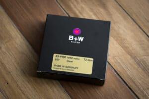 ฟิลเตอร์ B+W 72mm XS-PRO 007 CLEAR MRC NANO