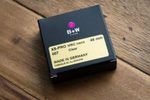 ฟิลเตอร์ B+W 46mm XS-PRO 007 CLEAR MRC NANO