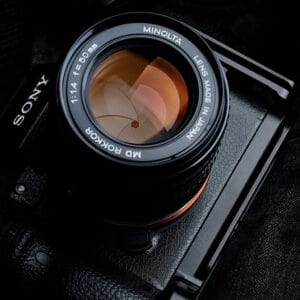 Sony A7III L-Plate A7RIII A9 สีดำ