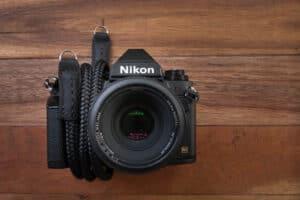 สายคล้องกล้องเชือก Lance Classic Black สีดำ 36 นิ้ว