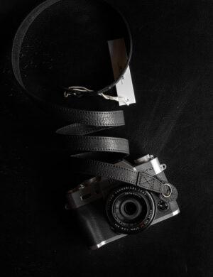 สายคล้องกล้อง Mr.Stone Black ไม่มีที่รองบ่า