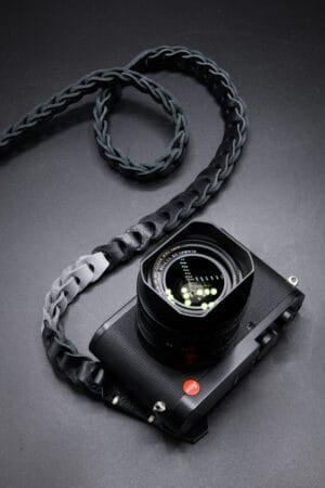 สายคล้องกล้องหนัง Nishikawa สีดำเทา Black-Gray S784