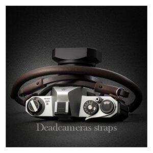 สายคล้องกล้อง DeadCameras Brown Slim Strap
