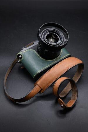 สายคล้องกล้องหนัง Mr.Stone Giano Brown มีที่รองบ่า