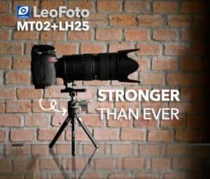 ขาตั้งกล้องเล็ก LeoFoto MT02 พร้อมหัวบอล LH25