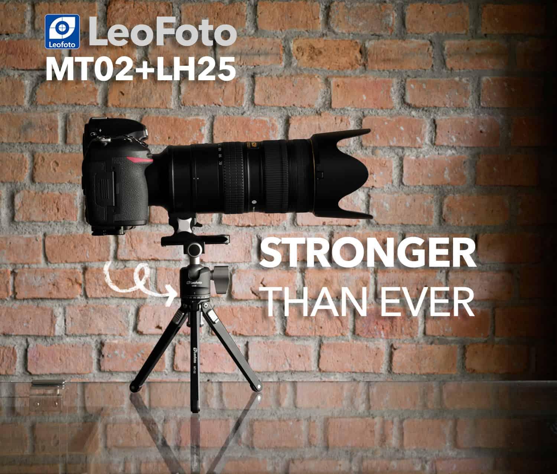 ขาตั้งกล้องเล็ก LeoFoto MT02