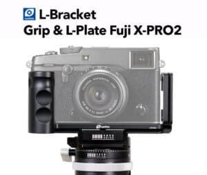 กริป Fuji XPRO2 จาก LeoFoto Grip & L-Plate