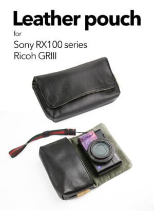 กระเป๋ากล้องคอมแพค ซองกล้อง MeKee หนังแท้