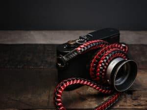 สายคล้องกล้องหนังถัก Barton Braided Asiana