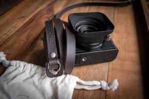 สายคล้องกล้อง TAP&DYE Legacy Brown without pad