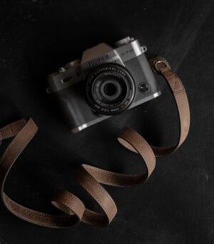 สายคล้องกล้อง Mr.Stone Vintage Brown ไม่มีที่รองบ่า