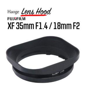 ฮูดเลนส์ Fuji 35mm F1.4 และ Fuji 18mm F2 Lens Hood