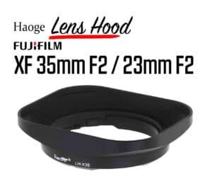 ฮูดเลนส์ Fuji 35mm F2 และ Fuji 23mm F2 Haoge