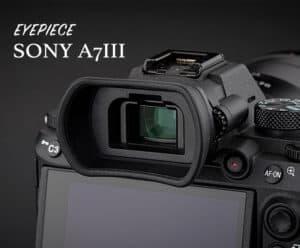 ยางรองตา Sony A7III A7RIV A7RIII A9II A9 A7SIII จาก JJC Kiwi KE-EP18L