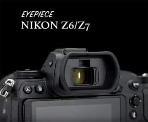 ยางรองตา Nikon Z5 Z6 Z7 Z6II Z7II จาก JJC Kiwi KE-NKZ