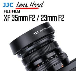 ฮูด Fuji 35mm F2 และ Fuji 23mm F2 JJC LH-JXF35C