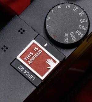 ฝาปิดช่องแฟลช Hot Shoe Cover THIS IS ANFIELD สีแดง