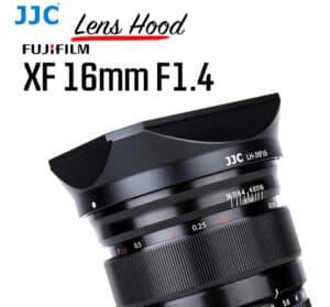 ฮูดเลนส์ Fuji 16mm f1.4 JJC LH-JXF16 Lens Hood