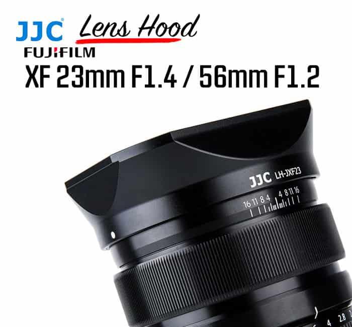 ฮูดเลนส์ Fuji 23mm f1.4 JJC LH-JXF23