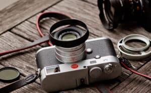 Leica Lens Hood 35mm f2 Black Overgaard Lens Shade