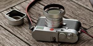 Hood Leica 35mm f2 Silver Overgaard Lens Shade