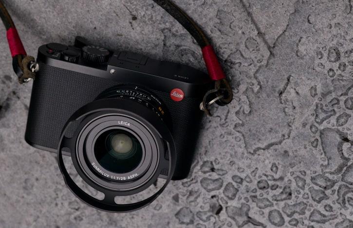 Overgaard Lens Shade Leica Q2 QP Q Black