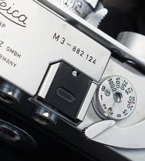 Kanto Hot Shoe Cover Black Paint Leica M2, M3, M4, M5, M6, M7, M8, M9