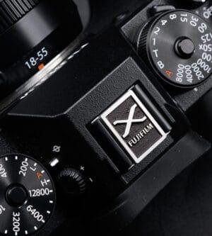 ตัวปิดช่องแฟลช Hot Shoe Cover Fuji X-series X100V XT4 XPRO3 สีดำ