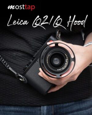 Hood Leica Q2 QP Q Black mostTap ฮูดเลนส์แบบกลม