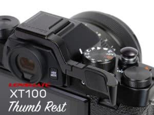 Lensmate Thumb Up Fuji XT100 Black ที่พักนิ้ว