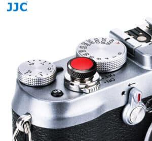 ปุ่มกดชัตเตอร์ JJC ดำแดง Deluxe Soft Release Black-Red