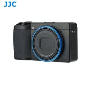 RICOH GRIII Ring Blue แหวนกล้อง Ricoh GR3 สีฟ้า จาก JJC