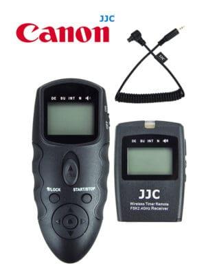 สายลั่นชัตเตอร์ Canon EOS R5 5D MarkIV 5D MarkIII รีโมทไร้สาย JJC WT868 Wireless Shutter Timer Remote Control