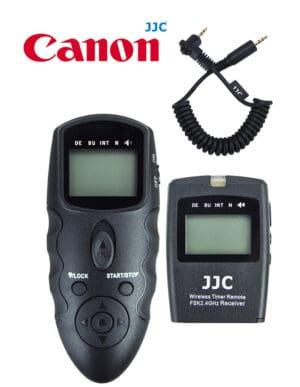 สายลั่นชัตเตอร์ Canon EOS R6 EOS R รีโมท ไร้สาย JJC WT868 Wireless Shutter Timer Remote Control