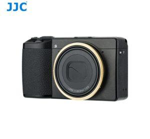 RICOH GRIII Ring Gold แหวนกล้อง Ricoh GR3 สีทอง จาก JJC